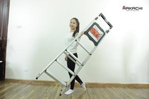Công nghệ Nhật cho thang nhôm Hakachi tải trọng và sức bền vượt trội
