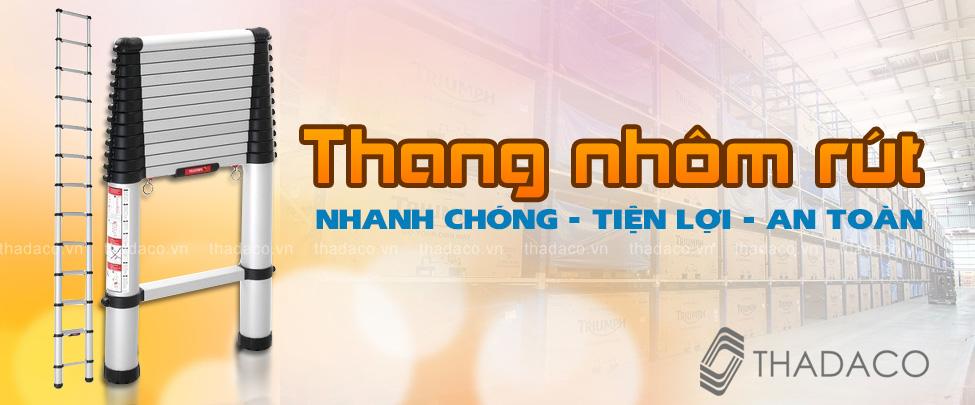 Thang nhôm rút