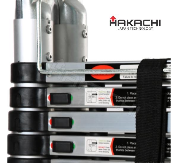 thang nhôm rút đôi hakachi hm-12, thang nhật bản