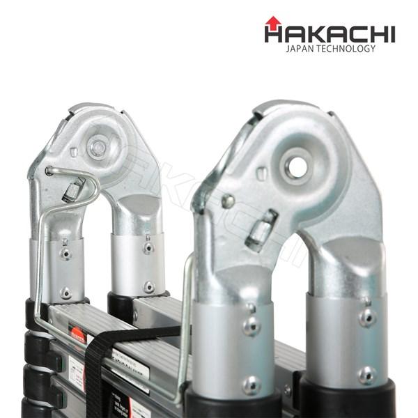thang nhôm rút chữ A hm-16 hakachi