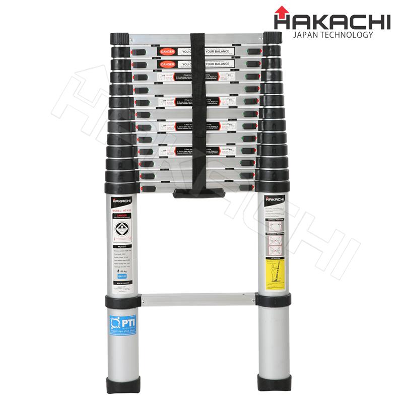 Thang nhôm rút gọn Hakachi HT- 410, thang nhật bản giá rẻ